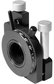 kinematic_adjustable_polarizer_holder_of_side_drive_double_optical_mount