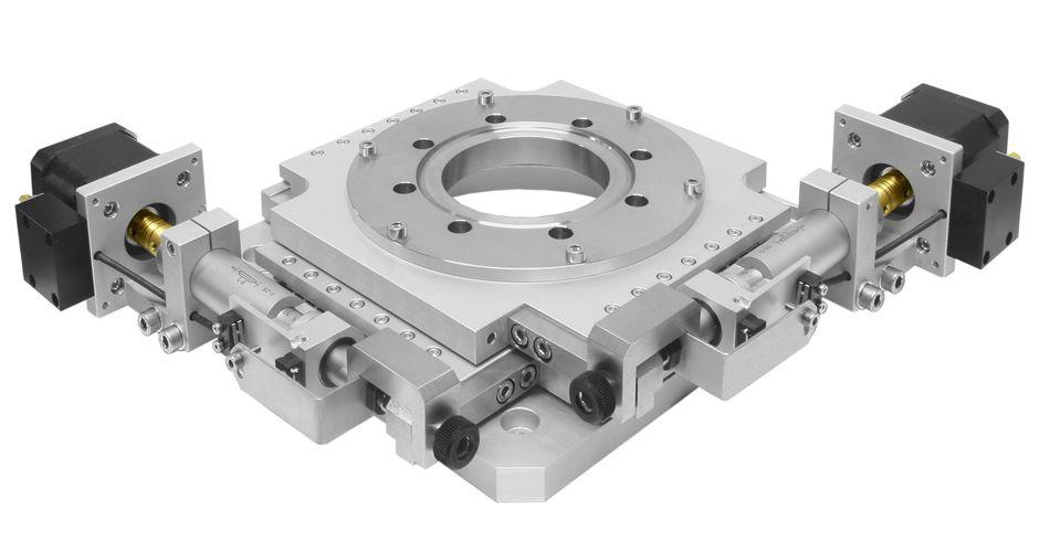 Motorized XY Scanning Stage - Custom Engineering - Catalog - Opto