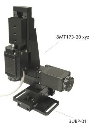Angle bracket 2AB173-20 in XYZ configuration