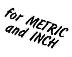 inch and metric