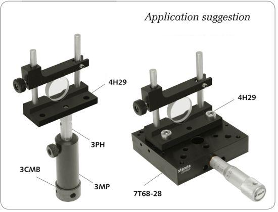 Adjustable Height V-Mount